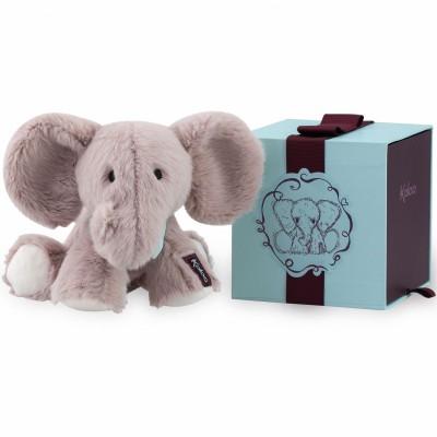 Coffret peluche Peanut l'éléphant (19 cm) Kaloo