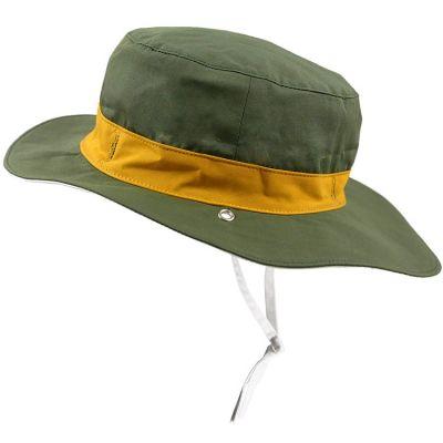 Chapeau réversible Kapel anti-UV Panama kaki (12-18 mois)