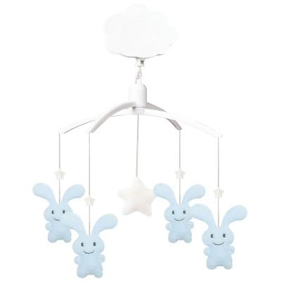 Mobile Musical Funny Bunny bleu  par Trousselier