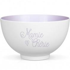 Bol en porcelaine Mamie Chérie