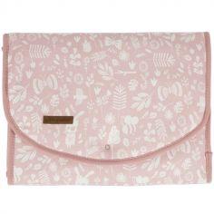 Tapis à langer Adventure pink (70 x 36 cm)