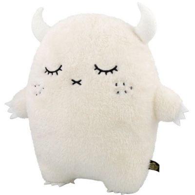 Peluche Ricepuffy Luxe blanc grand modèle (34 cm)  Noodoll