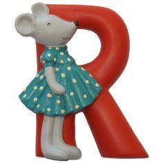 Lettre en résine R