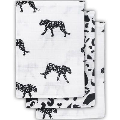 Lot de 3 gants de toilette Leopard