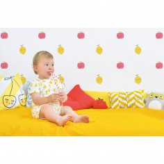 Stickers citrons Tutti frutti by Aless Baylis (18 x 24 cm)