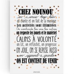 Affiche Chez Nounou (A3)