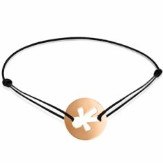 Bracelet cordon enfant Petit Garçon (or rose 750°)