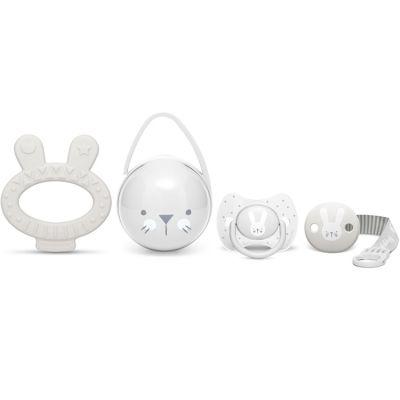 Coffret cadeau de naissance Hygge Baby lapin gris  par Suavinex
