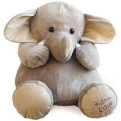 Peluche éléphant La savane (60 cm)