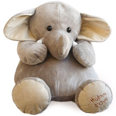 Peluche éléphant La savane (60 cm)  par Histoire d'Ours