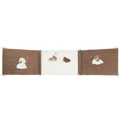 Tour de lit réversible Mia & Basile (pour lits 60 x 120 et 70 x 140 cm)  par Nattou