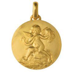 Médaille du mariage (or jaune 750°)