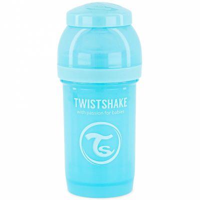Biberon anti-colique bleu pastel (180 ml)  par Twistshake