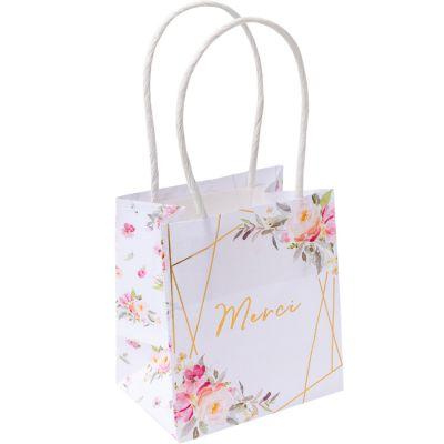 Lot de 6 sacs cadeaux Merci Aquarelle Impasse des Amours  par Arty Fêtes Factory