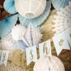 Losange en papier alvéolé blanc  par Arty Fêtes Factory