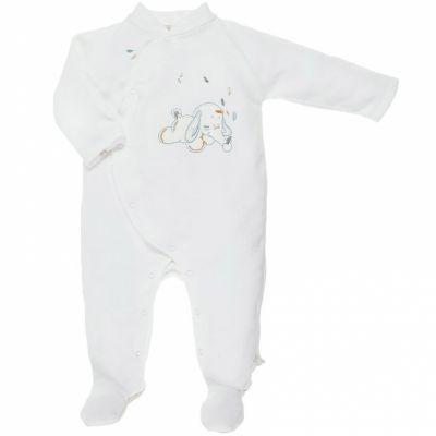 Pyjama chaud Bao écru (Naissance)  par Noukie's