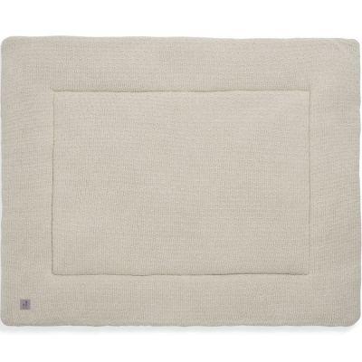 Tapis de jeu Bliss knit nougat (80 x 100 cm)  par Jollein
