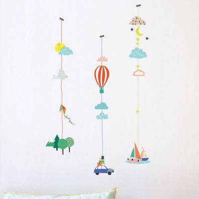 Stickers guirlande balade (3 stickers 50 x 8 cm)  par Mimi'lou