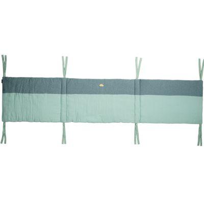 Tour de lit adaptable Nos jolis songes vert (pour lits 60 x 120 et 70 x 140 cm)  par Candide