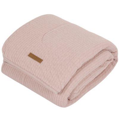 Couverture bébé pure & soft Pure pink (70 x 100 cm)  par Little Dutch