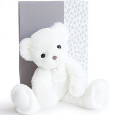 Coffret peluche Ours Moonlight Les ours poudrés blanc (25 cm)