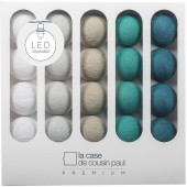Coffret guirlande lumineuse à LED clipsable Premium Miles - La case de cousin paul