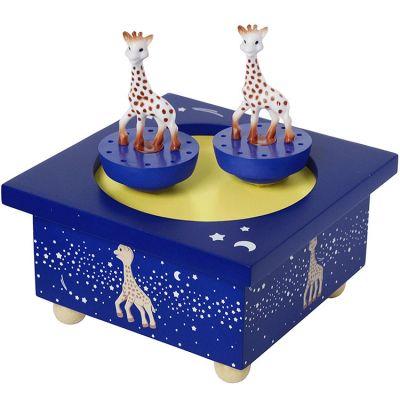 Boîte à musique Bois Sophie la Girafe Voie Lactée  par Trousselier