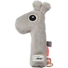 Hochet pouët Raffi la girafe gris (17 cm)