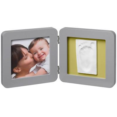 Cadre photo empreinte Modern Print Frame Gris  par Baby Art