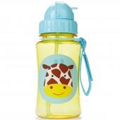 Gourde avec paille Zoo girafe jaune - Skip Hop