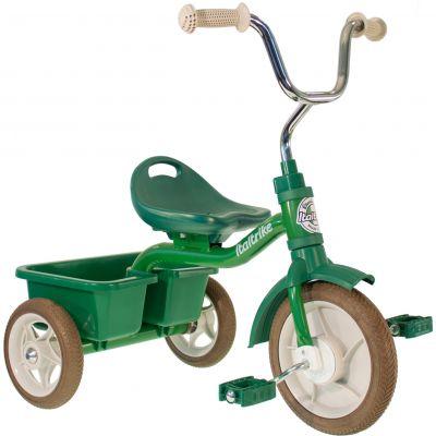 Tricycle Transporter avec panier arrière vert  par Italtrike