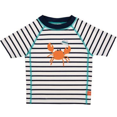 Tee-shirt de protection UV à manches courtes Splash & Fun marin bleu (36 mois)