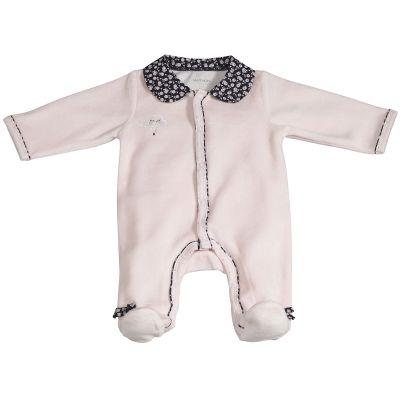 Pyjama chaud Miss Fleur de Lune rose (3 mois)  par Sauthon