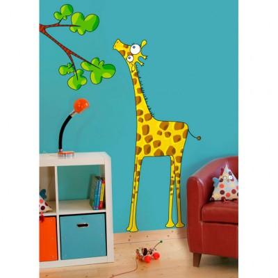 Sticker madame la girafe Série-Golo