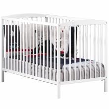 Lit bébé à barreaux New Nao blanc (60 x 120 cm)  par Baby Price
