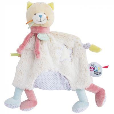 Doudou plat Tatoo papatte chat (25 cm) Doudou et Compagnie