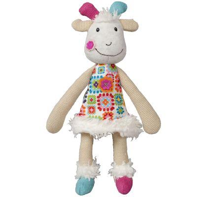 Peluche Huguette la biquette La Happy Farm (25 cm) Ebulobo