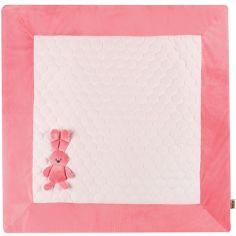 Tapis de jeu Lapidou rose (100 x 100 cm)
