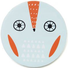 Lettre décorative Hibou O comme owl