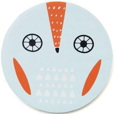 Lettre décorative Hibou O comme owl Petit Monkey