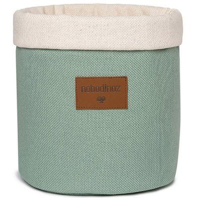 Panier de toilette Tango Pure Line eden green (24 x 19 cm)  par Nobodinoz