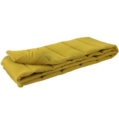 Tour de lit Bliss Mustard (pour lits 60 x 120 cm ou 70 x 140 cm)