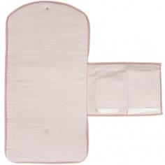 Tapis à langer Pink waves (70 x 36 cm)