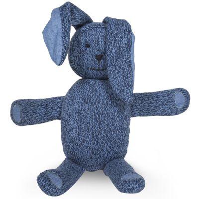 Peluche géante lapin Stonewashed bleu marine (62 cm) Jollein