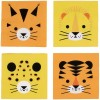 Lot de 20 serviettes en papier félin The Eye of the Tiger - My Little Day