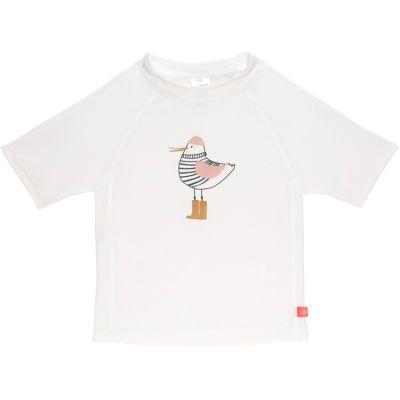 Tee-shirt anti-UV manches courtes Mme Mouette rose (2 ans)  par Lässig