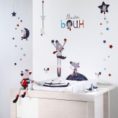 Sticker mural Mister Bouh - Sauthon Baby Déco