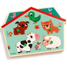 Puzzle sonore Ouaf Woof (5 pièces)