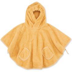 Poncho de bain Terry ocre golden (9-36 mois)
