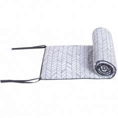 Tour de lit White leaves (pour les lits 60 x 120 cm)
